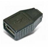 فیش کاور دار USB - مادگی