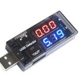 ولت متر - آمپر متر USB - خروجی دوبل
