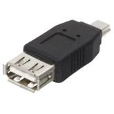 سوکت تبدیل Mini-USB به USB مادگی