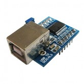 ماژول مبدل USB به سریال TTL با تراشه FT232RL | مدل میکرو (12 پایه)